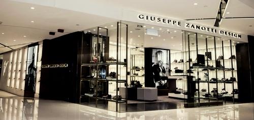 Giuseppe Zanotti Design store Harbour City Hong Kong.