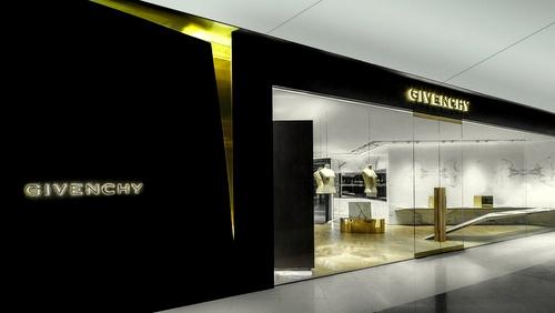 Givenchy shop IFC Mall Hong Kong.