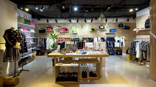 1234.93 K clothing store K11 Art Mall Hong Kong.