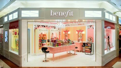Benefits Cosmetics shop Plaza Hollywood Hong Kong.