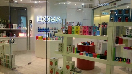 DOMA Lifestyle design store Windor House Hong Kong.