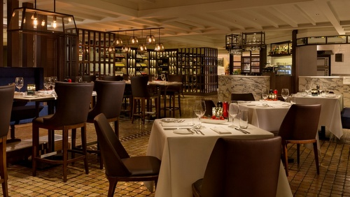 InterContinental Grand Stanford Hong Kong Hotel Mistral restaurant.