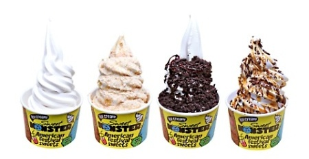 Sweet Monster signature ice cream Hong Kong.