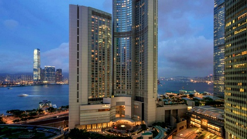 Four Seasons Hotel Hong Kong.