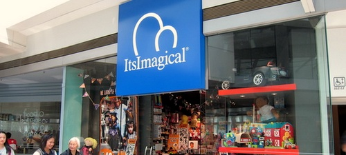 ItsImagical toy store Festival Walk Hong Kong.