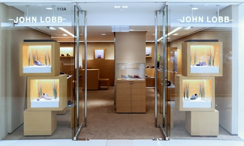 John Lobb shoe store Harbour City Hong Kong.