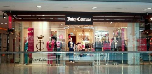 Juicy Couture clothing shop Horizon Plaza Hong Kong.