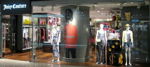Juicy Couture shop Hong Kong.