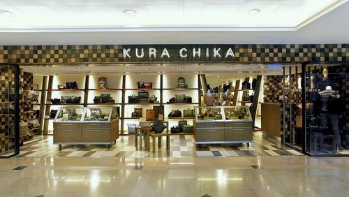 Kura Chika bag shop Harbour City Hong Kong.