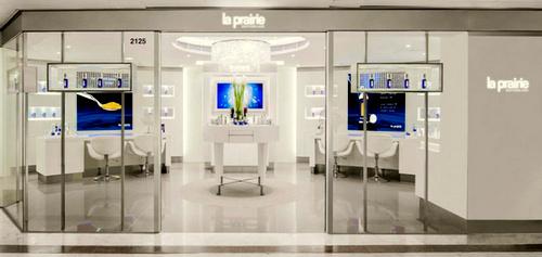 La Prairie cosmetics store Harbour City Hong Kong.