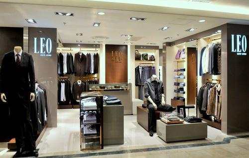 LEO clothing shop SOGO Causeway Bay department store Hong Kong.