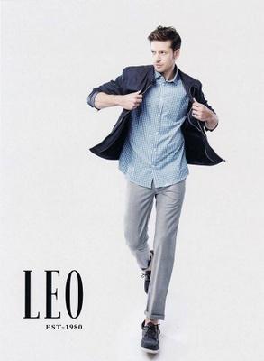 LEO men's clothing Hong Kong.