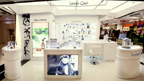 Leonor Greyl hair care products shop WTC More Hong Kong.