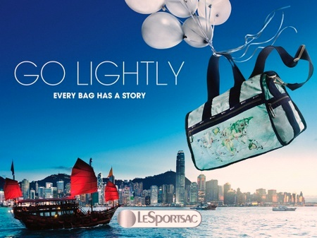 LeSportsac bag Hong Kong.