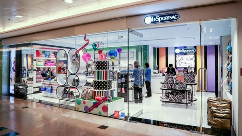 LeSportsac bag shop Harbour City Hong Kong.