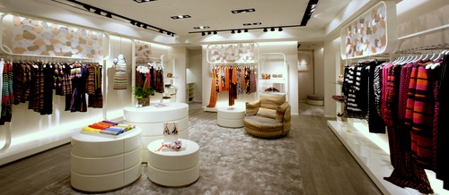 M Missoni clothing shop Harbour City Hong Kong.