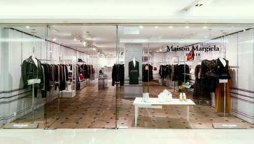 Maison Margiela shop Harbour City Hong Kong.