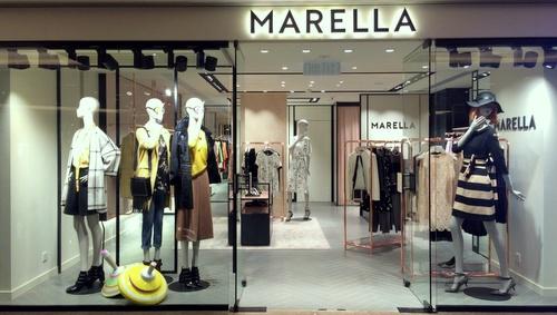 Marella clothing & accessory store Harbour City Hong Kong.
