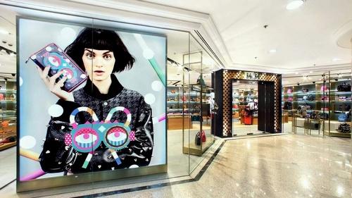 MCM store Times Square Hong Kong.