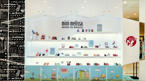 Mini Melissa children's shoe store Harbour City Hong Kong.