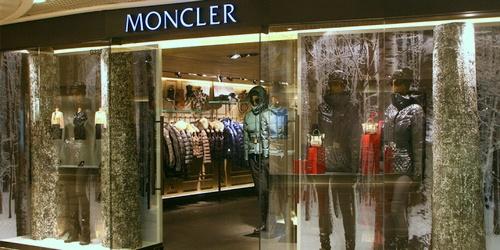 Moncler clothing shop Harbour City Hong Kong.