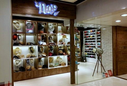 NOP headwear shop New Town Plaza Hong Kong.
