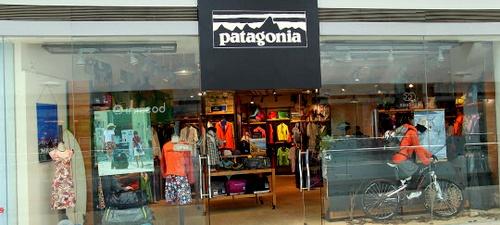 Patagonia outdoor clothing store Festival Walk Hong Kong.