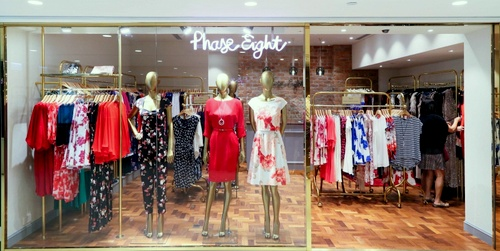 Phase Eight clothing shop Harbour City Hong Kong.