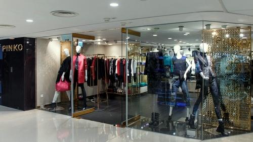 PINKO clothing store Harbour City Hong Kong.