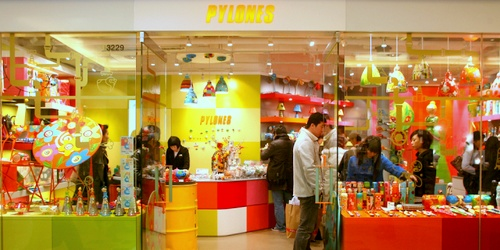 Pylones design store Harbour City Hong Kong.