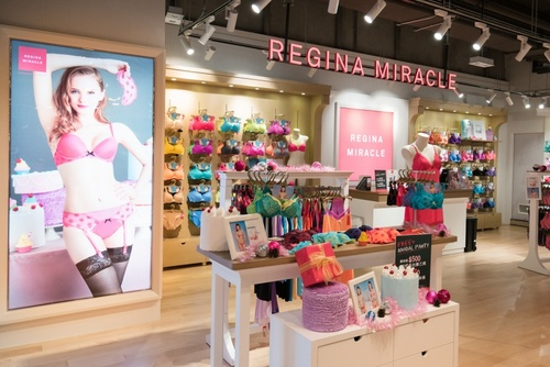 Regina Miracle lingerie store Harbour City Hong Kong.