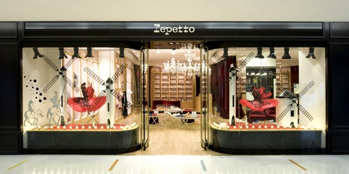 Repetto store Harbour City Hong Kong.