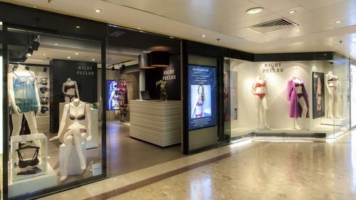 Rigby & Pelle lingerie store Harbour City Hong Kong.