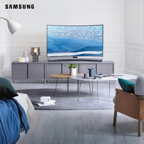 Samsung television Hong Kong.