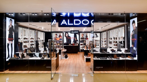 ALDO shoe store Cityplaza Hong Kong.