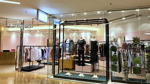 Clémence by rue Madame clothing shop Cityplaza Hong Kong.