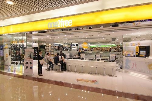 CSL shop Plaza Hollywod Hong Kong.