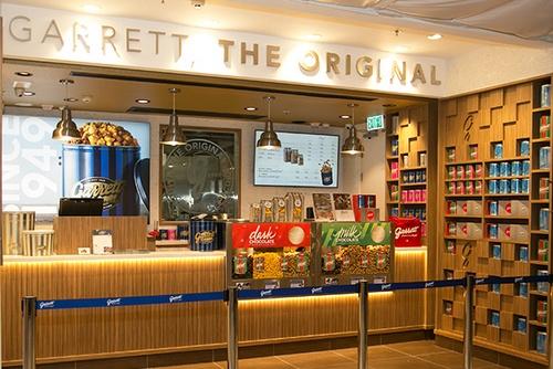 Garrett Popcorn Shops Cityplaza Hong Kong.