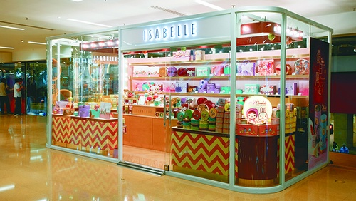 Isabelle bakery store Cityplaza Hong Kong.