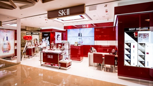 SK-II beauty shop Cityplaza Hong Kong.