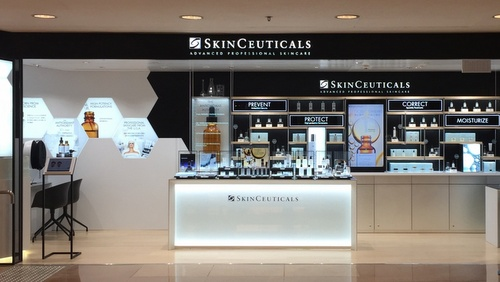 SkinCeuticals cosmetics shop Harbour City Hong Kong.
