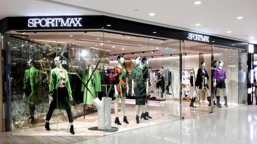 Sportmax clothing shop Harbour City Hong Kong.