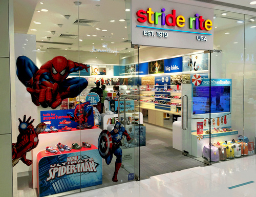 Stride Rite children's shoe store Harbour City Hong Kong.