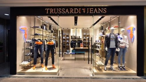 Trussardi Jeans Times Square Hong Kong.