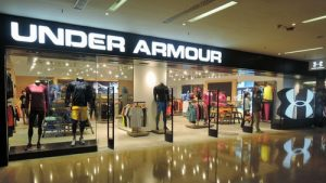 Under Armour store Cityplaza Hong Kong.