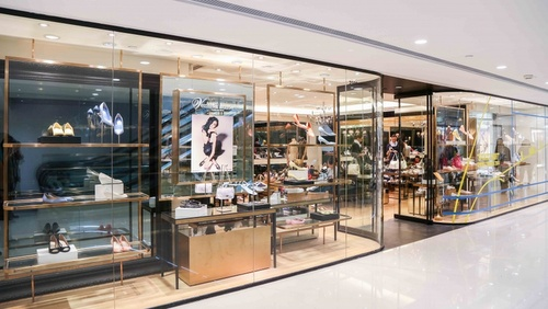 Venilla suite shoe store Harbour City Hong Kong.