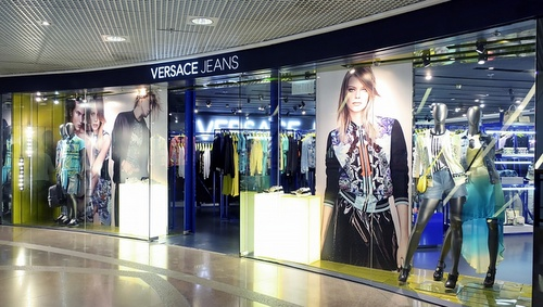 Versace Jeans store Harbour City Hong Kong.
