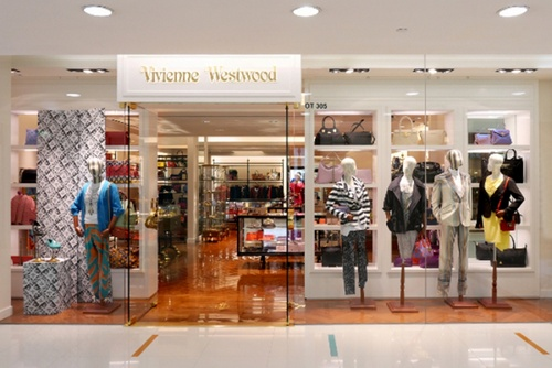Vivienne Westwood clothing shop Harbour City Hong Kong.