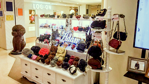 Adamo 3D Bag Original store at Fashion Walk mall in Hong Kong.