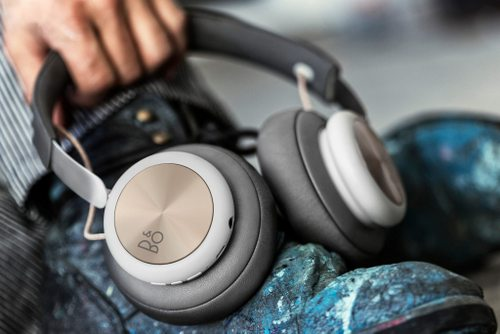 Bang & Olufsen headphones, available in Hong Kong.
